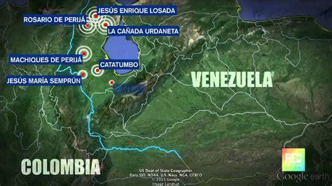 imagenes de venezuela y colombia mapa de fronteras cerradas entre colombia y venezuela
