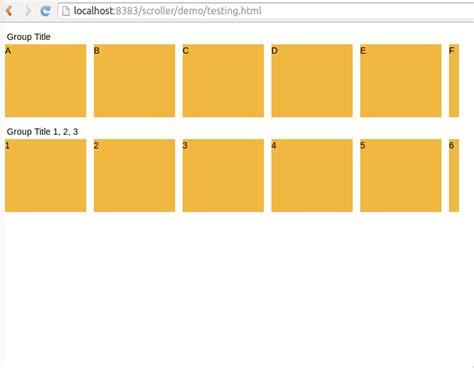 html div scrollbar html how can i make a div scroll horizontally stack