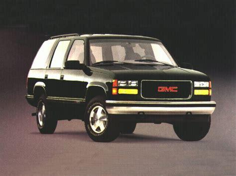 1996 gmc yukon specs safety rating mpg carsdirect