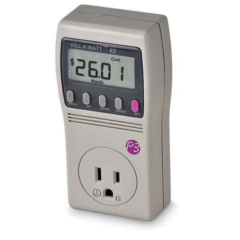 Watts Up Power Usage Monitor by Kill A Watt Ez Power Usage Monitor 155533 At