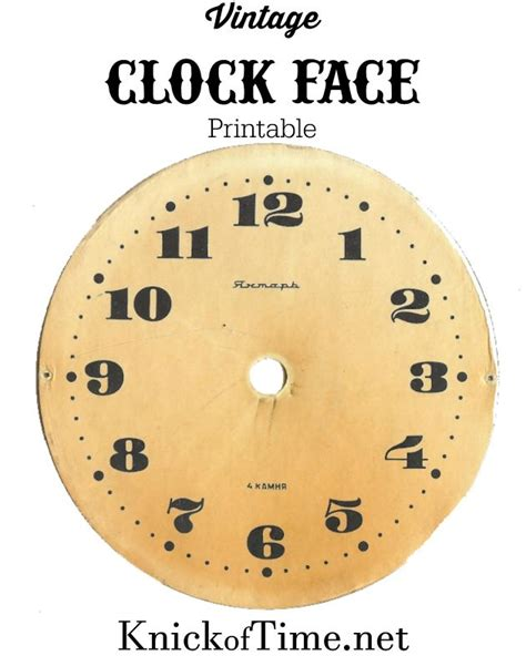 printable clock dials 17 best images about clocks on pinterest clock clock
