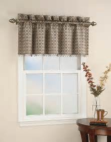 Curtains And Valances Mallorca Tile Beaded Window Curtain Valance Curtainworks