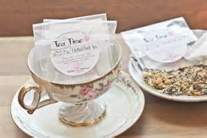 tea bag favors tea favors herbal bath tea bags tea time in the tub