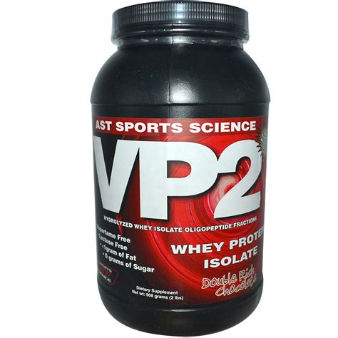 ast sports science vp2 whey protein isolate rich