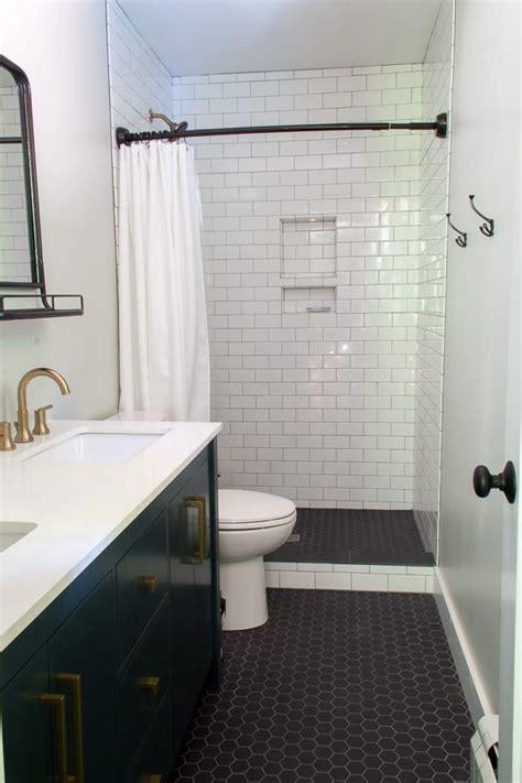 remodeled modern bathrooms guest bathroom remodel