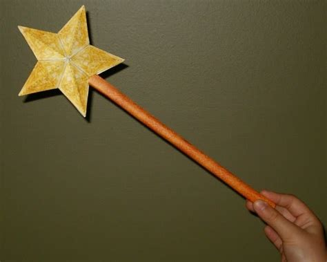 How To Make A Wand With Paper - magic wand jpg