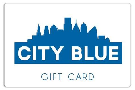 New Era Gift Card - city blue exclusives city blue