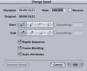 final cut pro how to speed up clip fcp 7 tutorial speed up and slow down clips