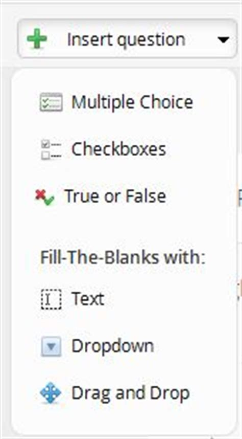 drag and drop inserting text to input textbox with jquery fill in the blanks with goconqr new functions goconqr