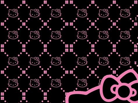 wallpaper hello kitty black and white hello kitty black wallpapers imagui