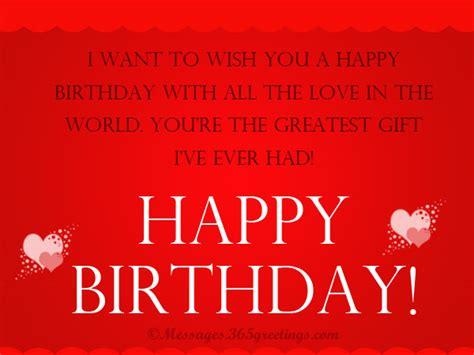 I Wanna Wanna Wish You A Happy Birthday Birthday Wishes For Girlfriend Page 20
