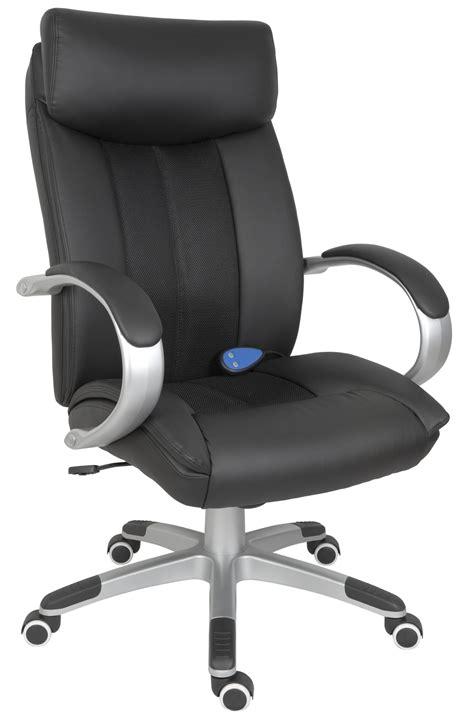 shiatsu black executive chair