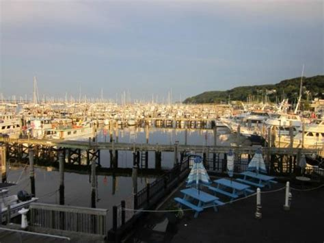 On The Deck Atlantic Highlands Menu by View Of The Marina Picture Of On The Deck Restaurant