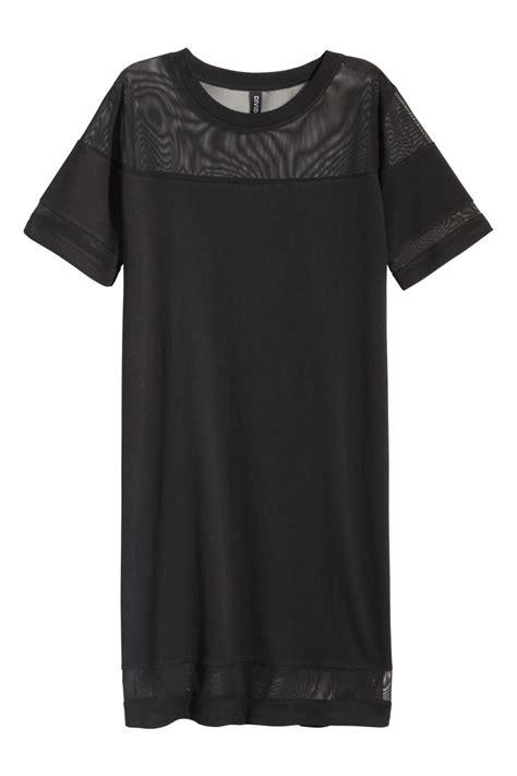 Hm Pocket Shirt Dress Black t shirt dress black sale h m us