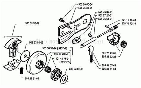 husqvarna 55 rancher parts diagram husqvarna 50 parts list and diagram 1983 01 throughout