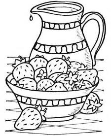 Strawberries Coloring Pages Strawberries Printable Strawberry L