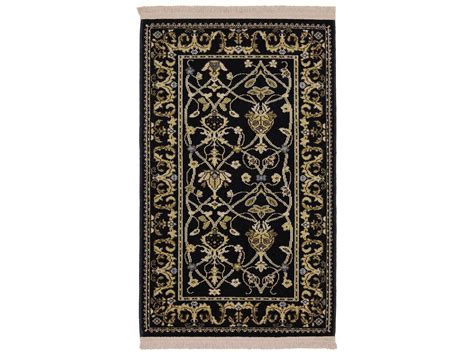Karastan Area Rugs Karastan Rugs Manor William Morris Rectangular Black Area Rug 02120 00514 030048