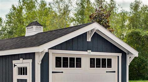 elite carriage shed adirondack storage barns