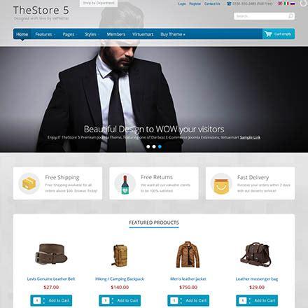 joomla theme ice icetheme thestore 5 v1 0 0 template online store for joomla
