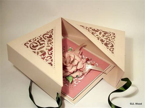 Handmade Paper Boxes Tutorial - spellbinders filigree box tutorial handmade envelopes
