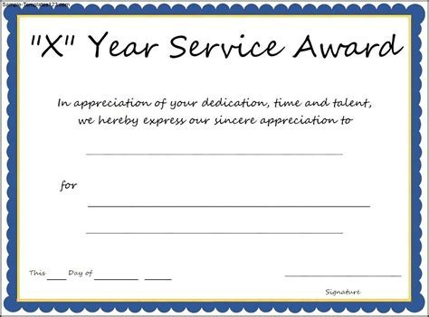 Years of service award template 10 year service certificate 10 year service certificate template pictures to pin on yelopaper Choice Image