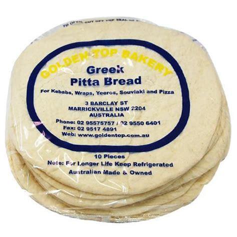 Pita Top golden top pita bread 10 s harris farm markets