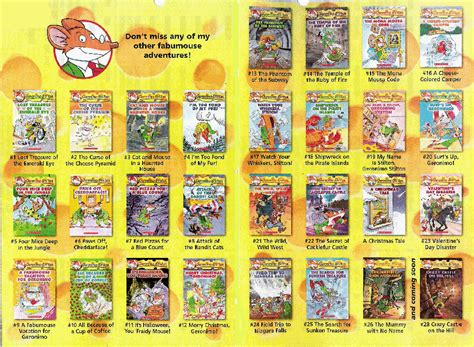 Geronimo Stielton Geronimo Stilton Ji Won S