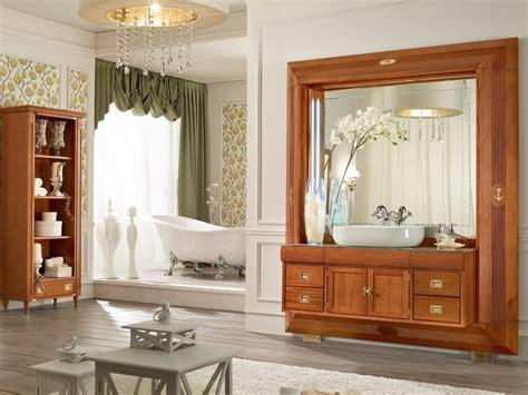 arredi in legno frame arredo bagno completo by caroti