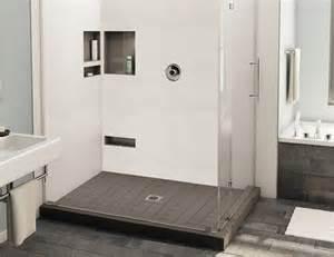 redi base shower pan 36 x 48 center drain right dual curb