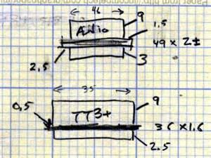 how to do kilo on doodle fit wouxun kg uv3d gps interface pcb component envelopes