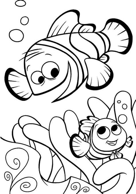 finding nemo characters coloring pages gianfreda net