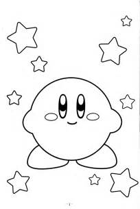 kirby coloring pages kirby coloring pages pictures