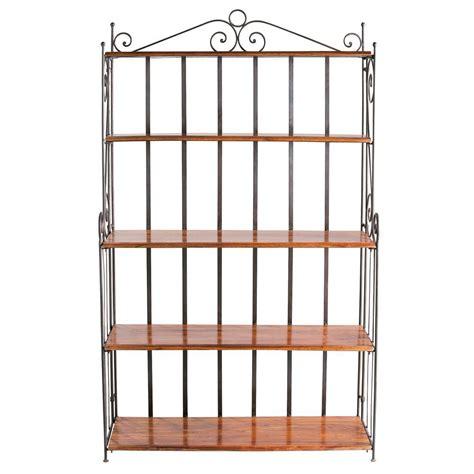 wrought iron shelf unit w 112cm lub 233 maisons du monde