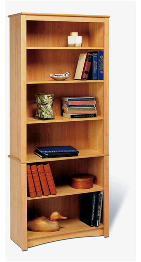 prepac 6 shelf bookcase color espresso contemporary
