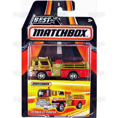 Matchbox 75 Mack Cf Pumper Gold Best Of Matchbox 2016 65 mini 2016 matchbox best of world a assortment camco toys