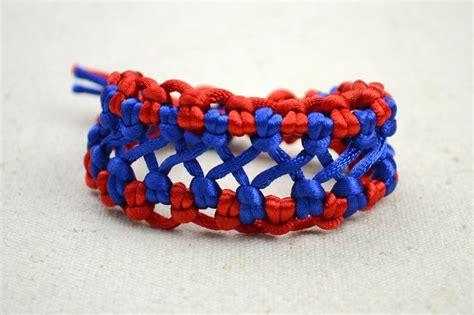 Handmade Bracelet Patterns - handmade fashion jewelry bicolor woven hemp bracelet