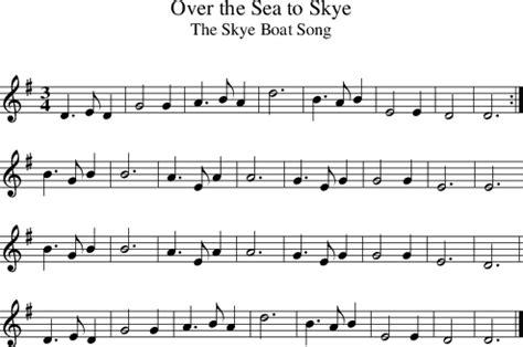 skye boat song recorder music skye boat song upper primary choir blog