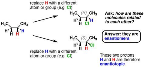 Diastereotopic Protons by Homotopic Diastereotopic Enantiotopic Master Organic