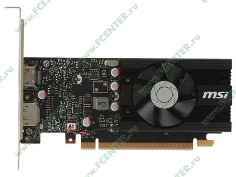 Msi Geforce Gt 1030 2gb Ddr5 2g Lp Oc видеокарта msi quot geforce gt 1030 2g lp oc 2гб quot купить