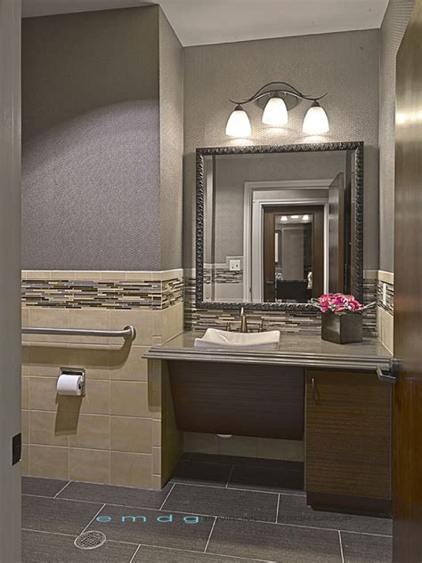 Office Bathroom Design Enviromed Design Dental Office Design