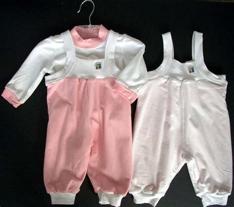 Pink Set Overall buy white pink overall set