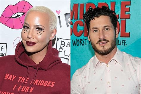 who is val chmerkovskiy dating amber rose opens up about dating val chmerkovskiy shares