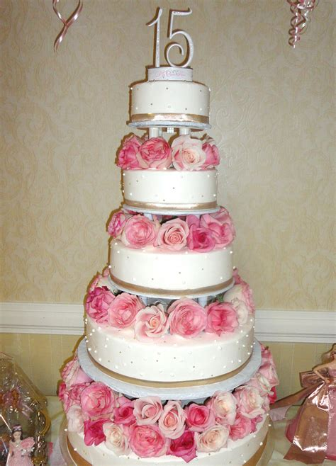 Quinceanera Cakes by Pink Quinceanera Cake Www Imgkid The Image Kid Has It