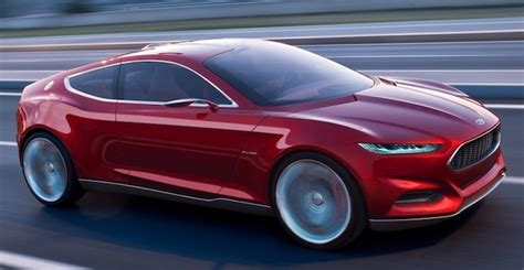 ford mustang 2014 concept report 2014 ford mustang to be influenced by evos concept
