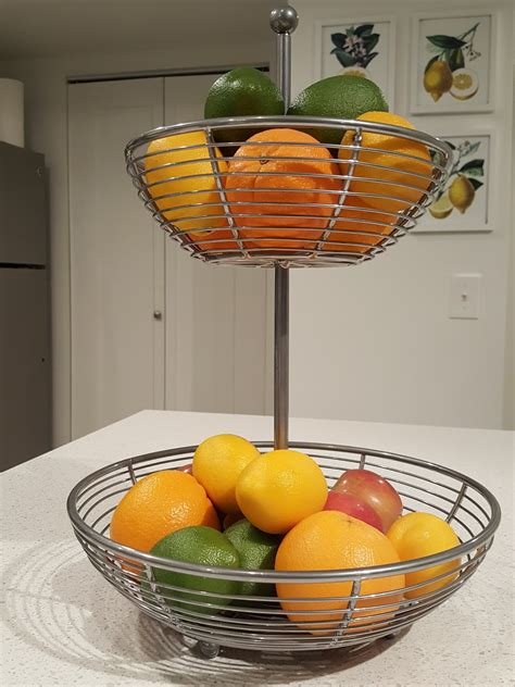 Countertop Fruit Storage by 5 Ways To Organize Your Kitchen Countertops