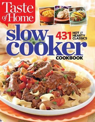 Pdf Taste Home Cooker Classics by Taste Of Home Cooker Cookbook 431 Hearty