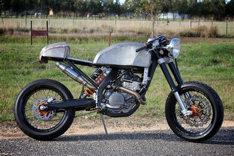 Ktm Cafe Racer Ktm 250exc F Cafe Racer Return Of The Cafe Racers