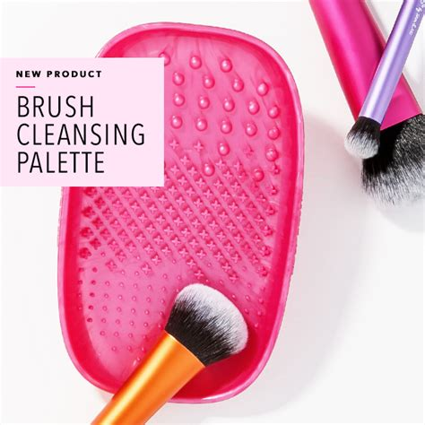 Real Techniques Rt Brush Cleansing Palette brush cleansing palette the look