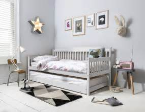 Daybed With Pull Out Bed Day Bed Single Bed With Pull Out Trundle In Choice Of Colours Ebay