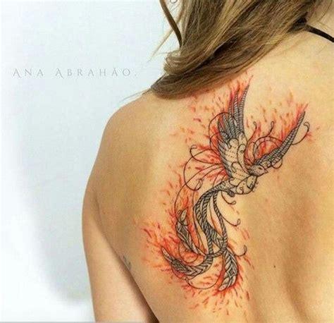 simple phoenix tattoo 186 best kunst p 229 kroppen images on